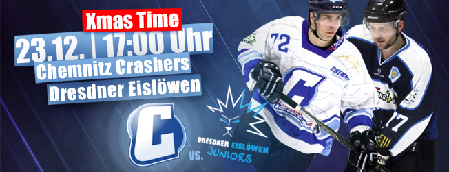 Chemnitz Crashers Dresdner Eislöwen Juniors