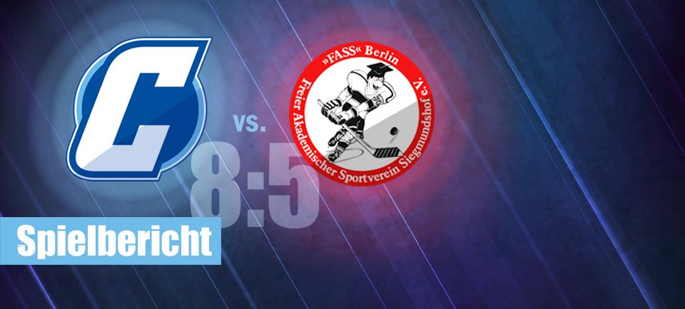 Chemnitz Crashers FASS Berlin Regionalliga Ost Eishockey