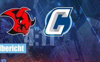 Saale Bulls 1b Chemnitz Crashers Eishockey Regionalliga Ost