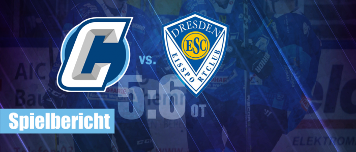 Chemnitz Crashers ESC Dresden Eishockey Regionalliga Ost
