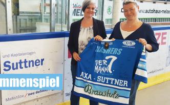 AXA Gereralvertretung Chemnitz Crashers Eishockey