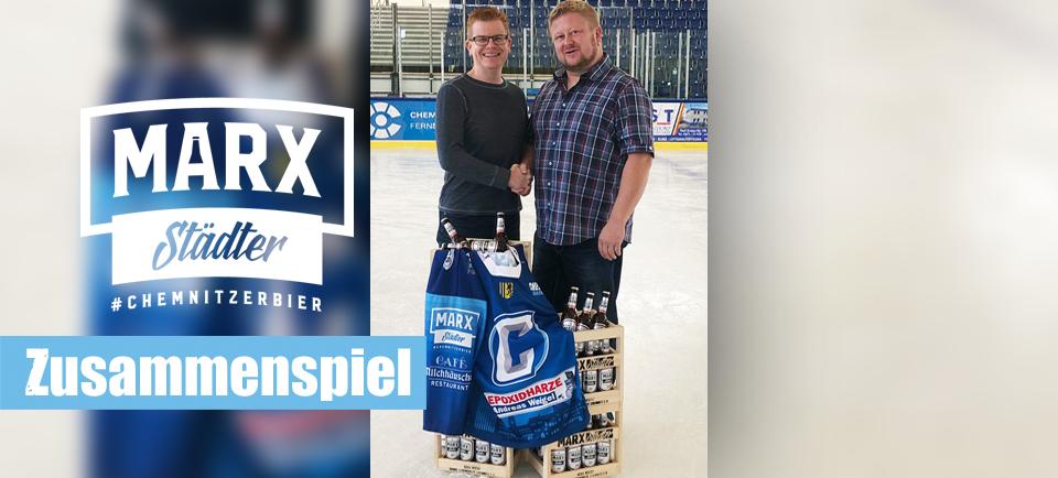 MARX Chemntizer Bier GmbH Chemnitz Crashers