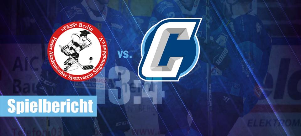 FASS Berlin Chemnitz Crashers Eishockey Regionalliga