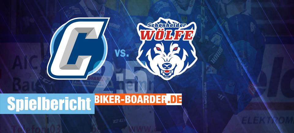 Chemnitz Crashers Schönheider Wölfe DERBY Eishockey Regionalliga Ost