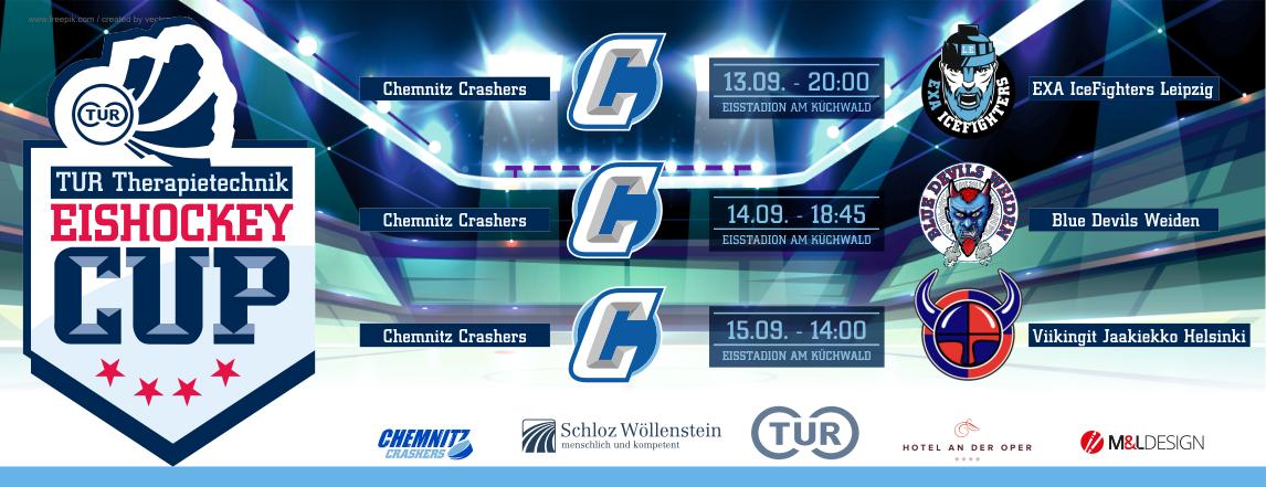 TUR_Therapietechnik_Eishockey_Cup_Chemnitz_Crashers_Spielplan