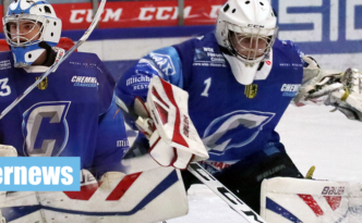 Chemnitz Crashers Eishockey Regionalliga Ost Kevin Kopp Niels Langer